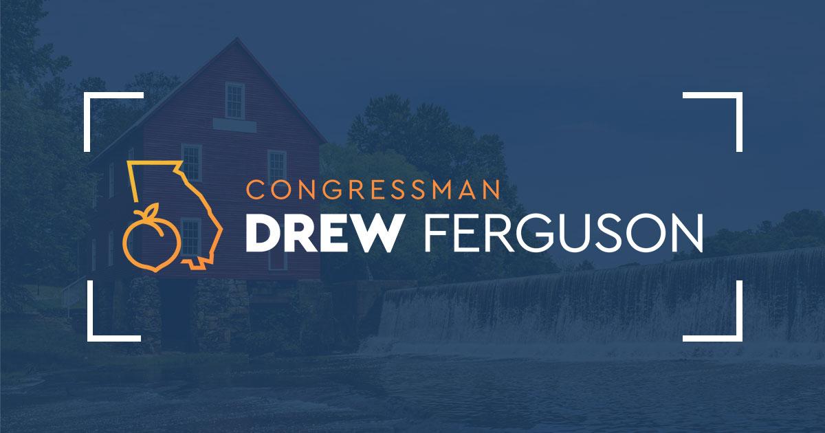 U S  Representative Drew Ferguson